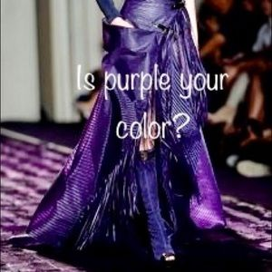💜 Is Purple Your Color, my Lady? 💜